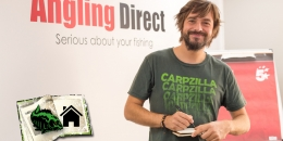 Carpzilla Redakteur Volker Seuß bei Angling Direct in Norwich