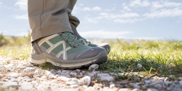 Der Haix Black Eagle Adventure 2.1 GTX Low/Olive-Rock