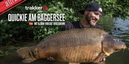 Brockmann angelt im Trakker Video am Baggersee