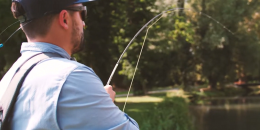 Sebastian Bremm im Carp on fly Film