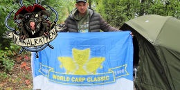 Ronny Luft mit WCC Flagge.