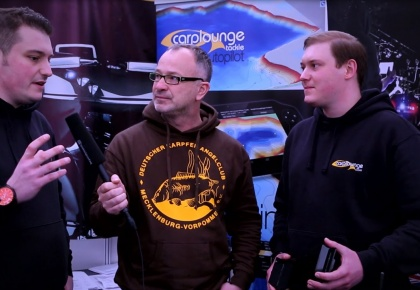 "Carplounge RT4 at ""the Big one"" Carpshow in UK. **DE/EN Subtitle** Interview: Ian Russel (Avid)"
