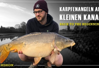 In Session | Karpfenangeln am kleinen Kanal | BACK TO THE BEGINNING