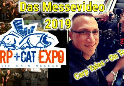 Carp Tales - Das Messevideo zur Carp&Cat Expo Wallau 2019  | On Tour